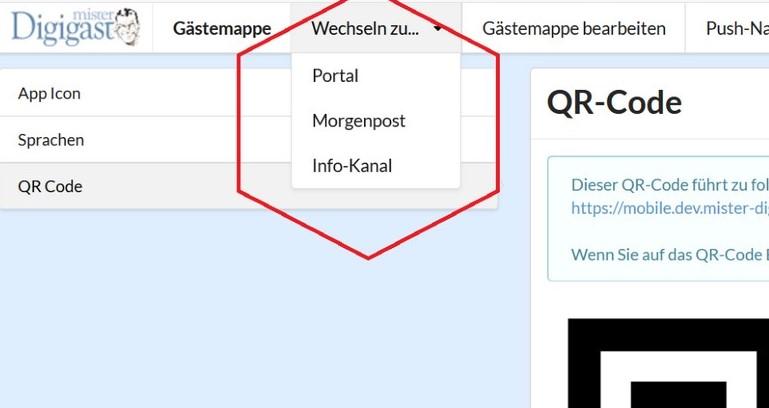 Digitale Gästemappe für Hotels