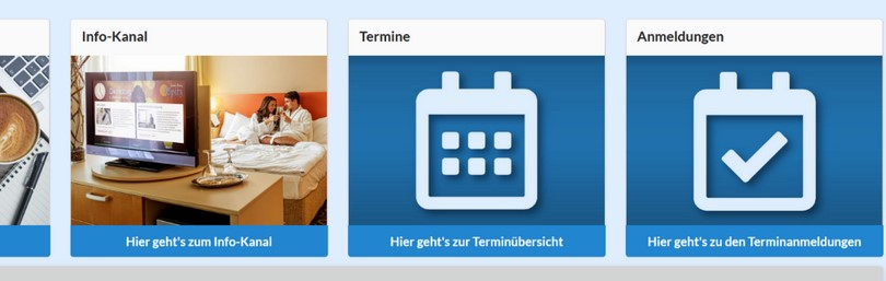 Termintool für Hotels